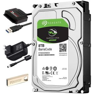 Seagate 8TB Hard Drive Upgrade Kit