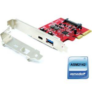 PCIe USB 3.2 Gen 2 Host Adapter