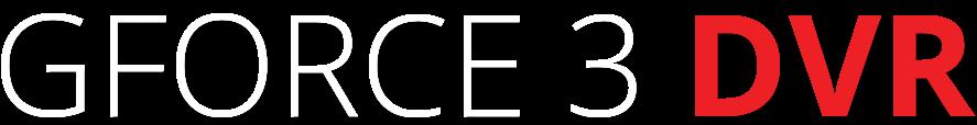 GFORCE_3_DVR_logo_White